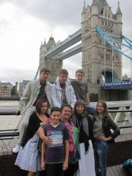 Велика група учнів нашої школи мали екскурсійну та навчальні програми у Лондоні